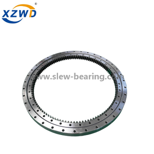 High quality Xuzhou Wanda Single Row Crossed Roller Slewing ring Bearing (HJ series) Without Gear