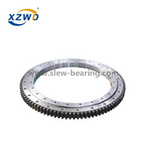 Hot Sales OEM Single Row Ball Four Point Contact Ball Slewing Bearing Replacement of Rotek Brand