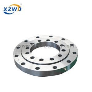 high presicion small diameter cross roller slewing bearing without gear for welding robot